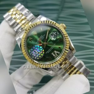 galaxyplace-923132524484-rolex-oyster-perpetual-datejust -II-Green-watch-40097 (7)